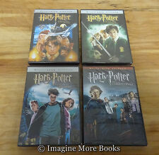 4 NEW/SEALED DVDs ~ Harry Potter Years 1 2 3 4 ~ Sorcerers Stone +