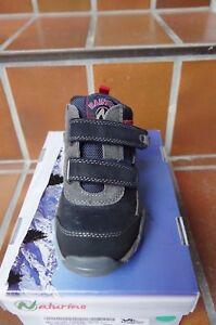 29ff96fbe75dec Das Bild wird geladen Naturino-Cadore-knoechelhohe-Schuhe -f-Jungen-grau-schwarz-