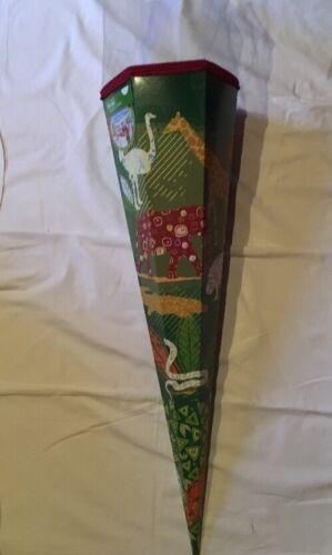 Schultüte Zuckertüte Schulanfang Einschulung Nestler Afrika 85cm Safari Grün