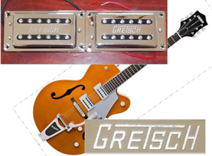 NEW-set-complet-GRETSCH-Dual-Coil-Humbucking-chrome