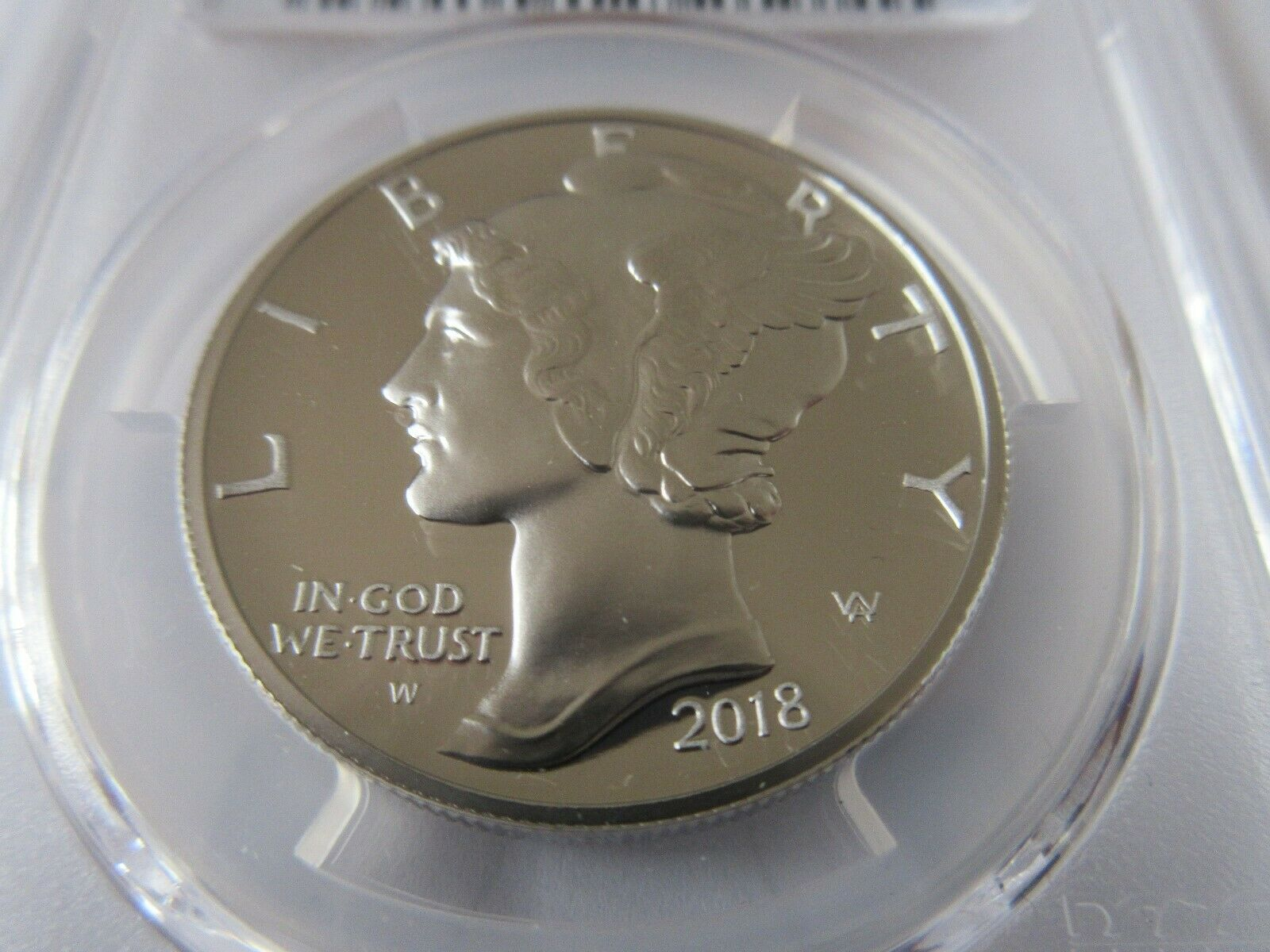 2018-W $25 American Liberty PALLADIUM PCGS Proof-70 DCA