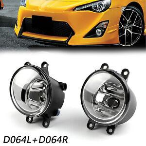 Pair-Of-Luz-De-Niebla-Left-Right-Side-Para-Lexus-Toyota-Camry-Yaris-Universal