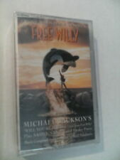 FREE WILLY SOUNDTRACK CASSETTE TAPE 1993 RARE! NEW & SEALED! MICHAEL JACKSON