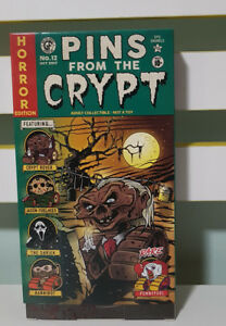 PINS-FROM-THE-CRYPT-TALES-FROM-THE-CRYPT-LAPEL-PINS-GAMING-GEEK-NEW-BOX-HANNIBAL