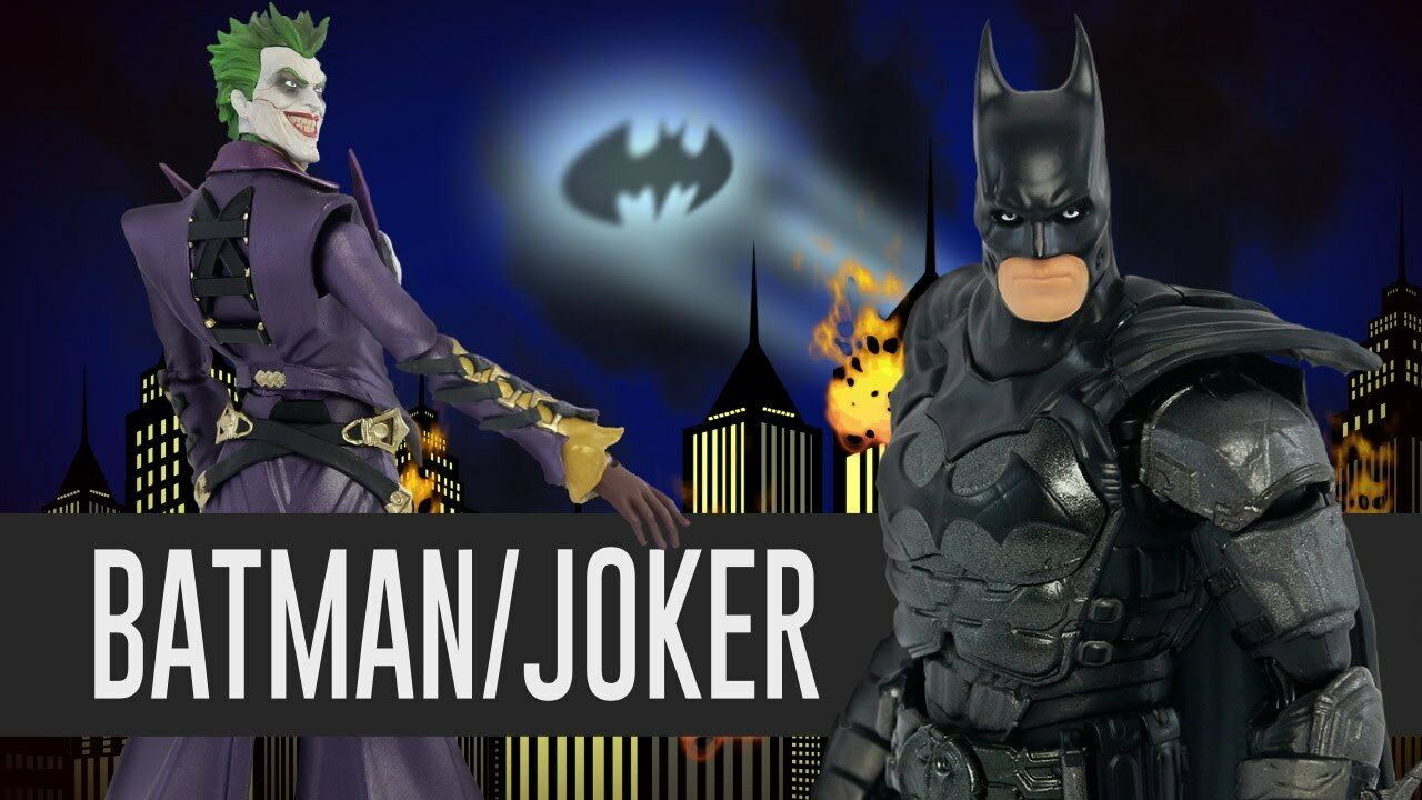 Batman & Joker Injustice S.H. Figuarts Action Figures Set Bandai Tamashii Japan