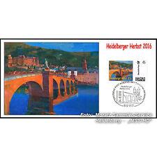 "BRIEFMARKE INDIVIDUELL Maximumkarte ""Heidelberger Herbst 2016"", Cl. Martine, NEU"