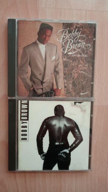BOBBY BROWN > Bobby + Don`t Be Cruel < Sammlung Auflösung Whitney Houston ex-Ehe