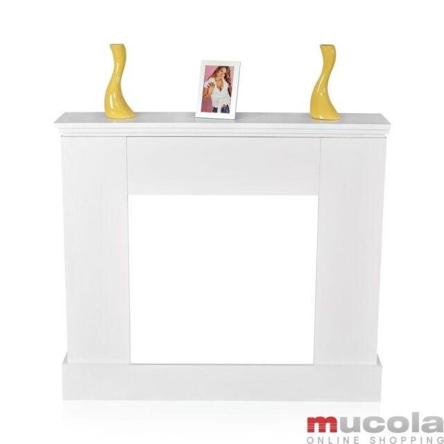 Mucola Deko Kamin Weiss 50003759 Gunstig Kaufen Ebay