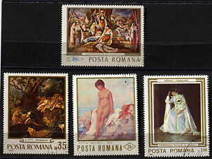 Romania-Paintings-Painter-Pack-Stamps-78M18