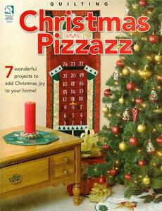 House-of-White-Birches-CHRISTMAS-PIZZAZZ-Quilting-Patterns-Paperback-Book-NEW