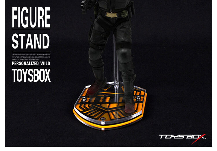 TOYS-BOX 017 1 6 Display Stand Base Judge Dredd Topic Platform F 12  Figure
