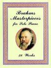 Brahms, Brahms Masterpiece for So by Johannes Brahms (Paperback, 1998)