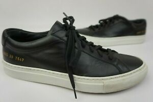 Black Sneaker Shoe Size 38