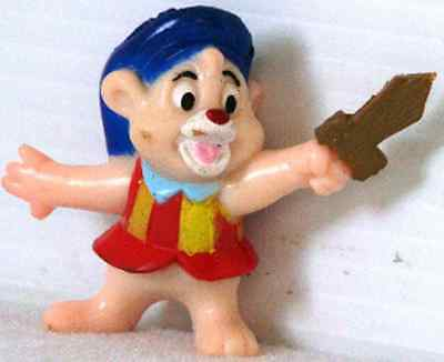 1991 KELLOGG/'S Gummi Bear WHITE CUBBY from DISNEY Afternoon