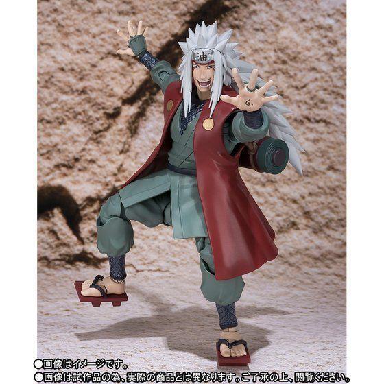 Bandai S.H.Figuarts Naruto Jiraiya Japan version