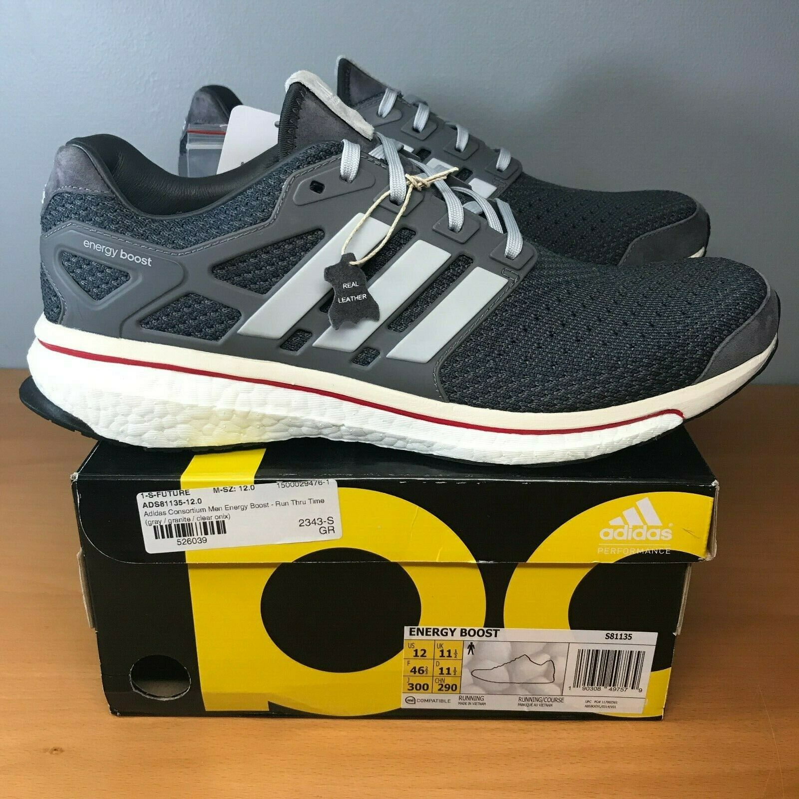 best website 7ce50 2b992 Adidas Energy Boost Consortium Sz 12 Run Thru Time Ultraboost Ultra S81135