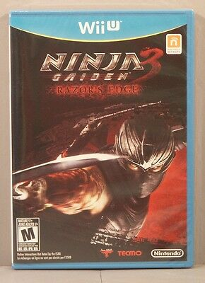 Ninja Gaiden 3 Razor S Edge Wii U 2012 Sealed Brand New 45496902964 Ebay