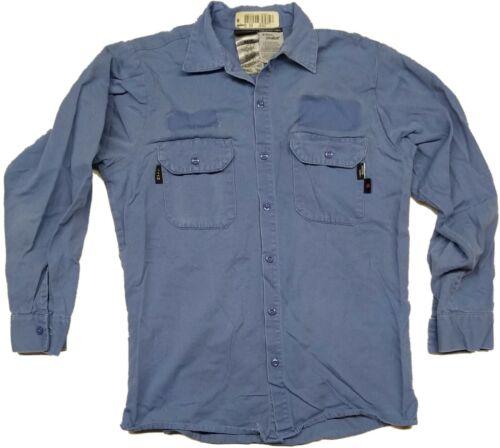 Westex Bulwark ect Used Long Sleeve Flame Resistant FR Work Shirts Aramark