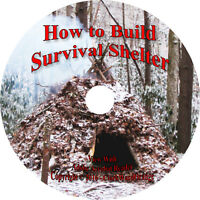 106 Shelter Books & Plans On Cd, Survival Survive Fallout Instructions How To