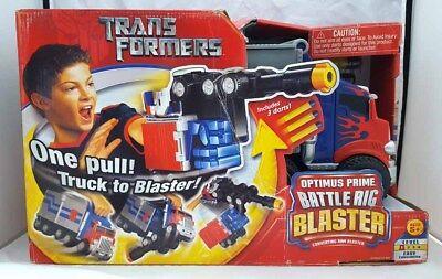 Transformers 'Optimus Prime Battle Rig Blaster' by Hasbro 2006 rare item