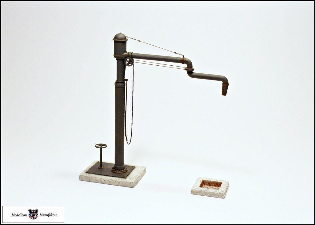 Gru d'acqua con braccio alle articolazioni  antracite  - Traccia 1