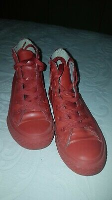2converse rosse usate