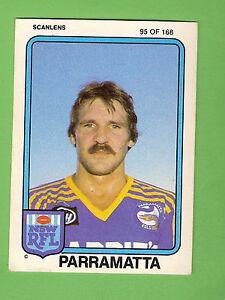 1981-PARRAMATTA-EELS-SCANLENS-RUGBY-LEAGUE-CARD-95-PHIL-MANN