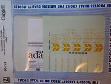"""Microscale Decal N  #60-724 Govt. of Canada 4-bay Cyl. Hoppers - Large """"Canada"""""""