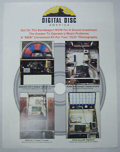 Collectibles Vintage 1970's Advertise Jukebox Brochure Seeburg Std-3 And Rock-ola 496 052412r Selected Material
