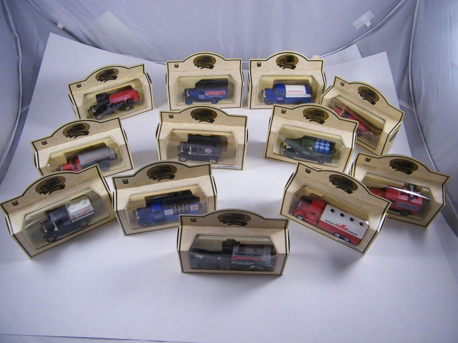 12 Modelos conmemorativa de Chevron  Die Cast réplicas  camiones, vagones, Coche, Furgoneta