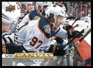 2019-20-Upper-Deck-UD-Canvas-C84-Connor-McDavid-Edmonton-Oilers