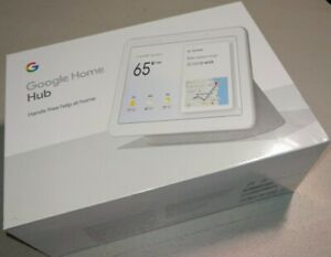 Details about Google - Home Hub with Google Assistant - Chalk GA00516-US  BRAND NEW