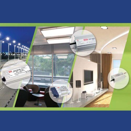 LED Netzteil 24V 45,6W Mean Well PLN-45-24 Schaltnetzteil Trafo Netzgerät