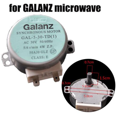 Plattenspieler Motor Synchronmotor GAL-5-30-TD 30V 4W für GALANZ Mikrowelle