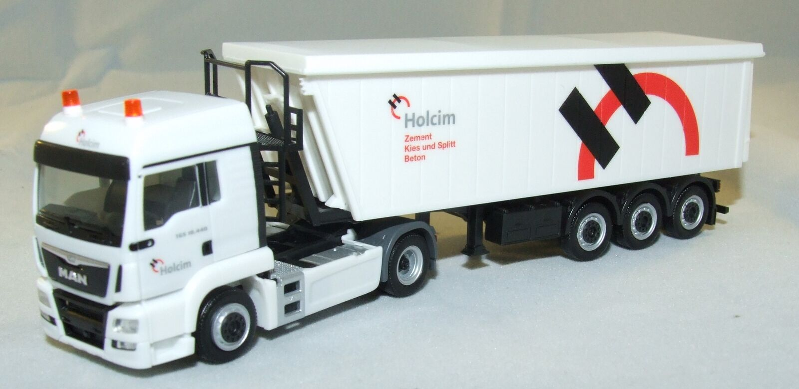 306171 Herpa Camion Semi-Remorque Holcim Man Tgs LX 1 87