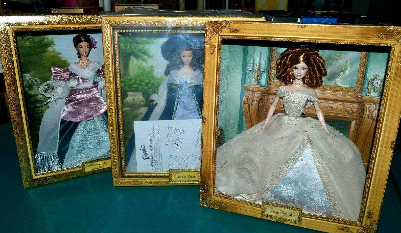 Nuevo En Caja-Lote de 3 Muñecas Barbie-duquesa Emma, Mademoiselle Isabelle, Lady Camille,