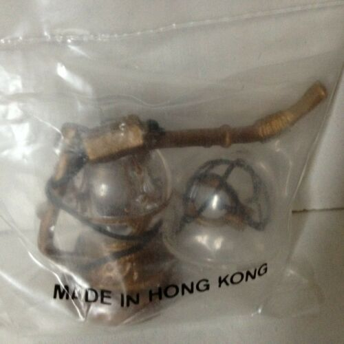 Vintage JABBA THE HUTT PIPE BOWL LEIA COLLAR kenner STAR WARS Rotj 1983 sealed