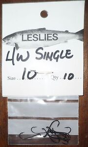 Leslies LW Hooks Size 10   10 in pack Free PampP - <span itemprop=availableAtOrFrom>Bedford, United Kingdom</span> - Leslies LW Hooks Size 10   10 in pack Free PampP - Bedford, United Kingdom