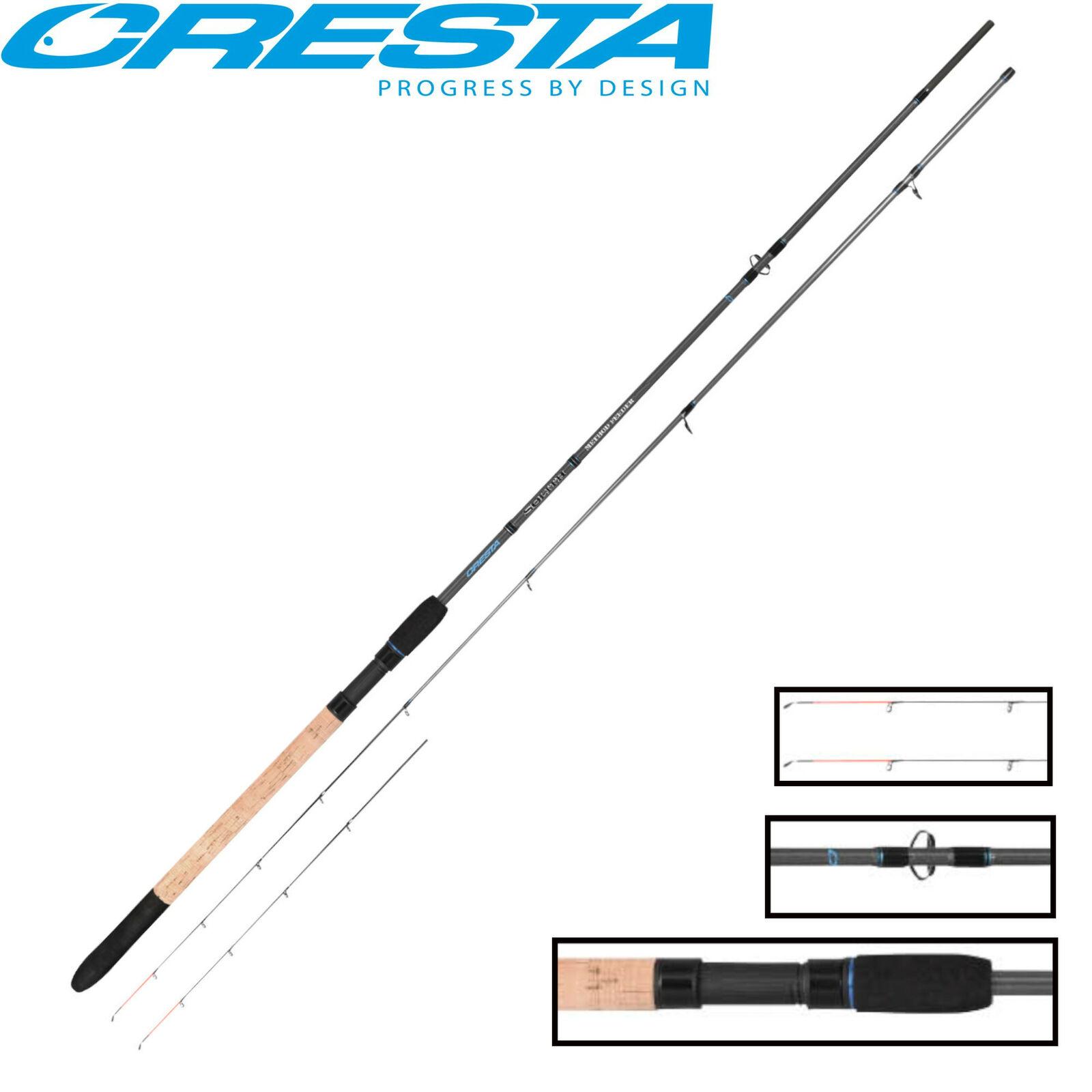 Cresta Solith Method Feeder 3m 60g Feederrute zum Futterkorbangeln Karpfenrute