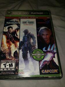Xbox 360 : Capcom Platinum Hits Triple Pack (Dead Rising / Lost Planet: Extreme