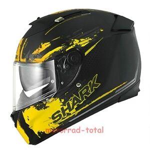 NEW-SHARK-Helm-Speed-R-Duke-gelb-yellow-Gr-S-55-56-Sonnenblende-statt-359-95