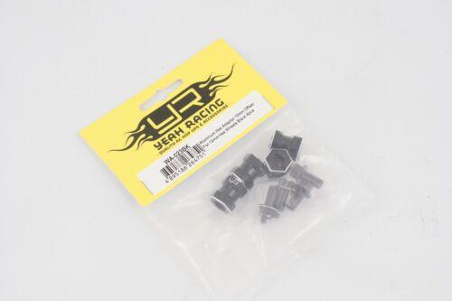 modellismo 4pz Yeah Racing Trascinatori alluminio Neri x Scaler 15mm da 12mm