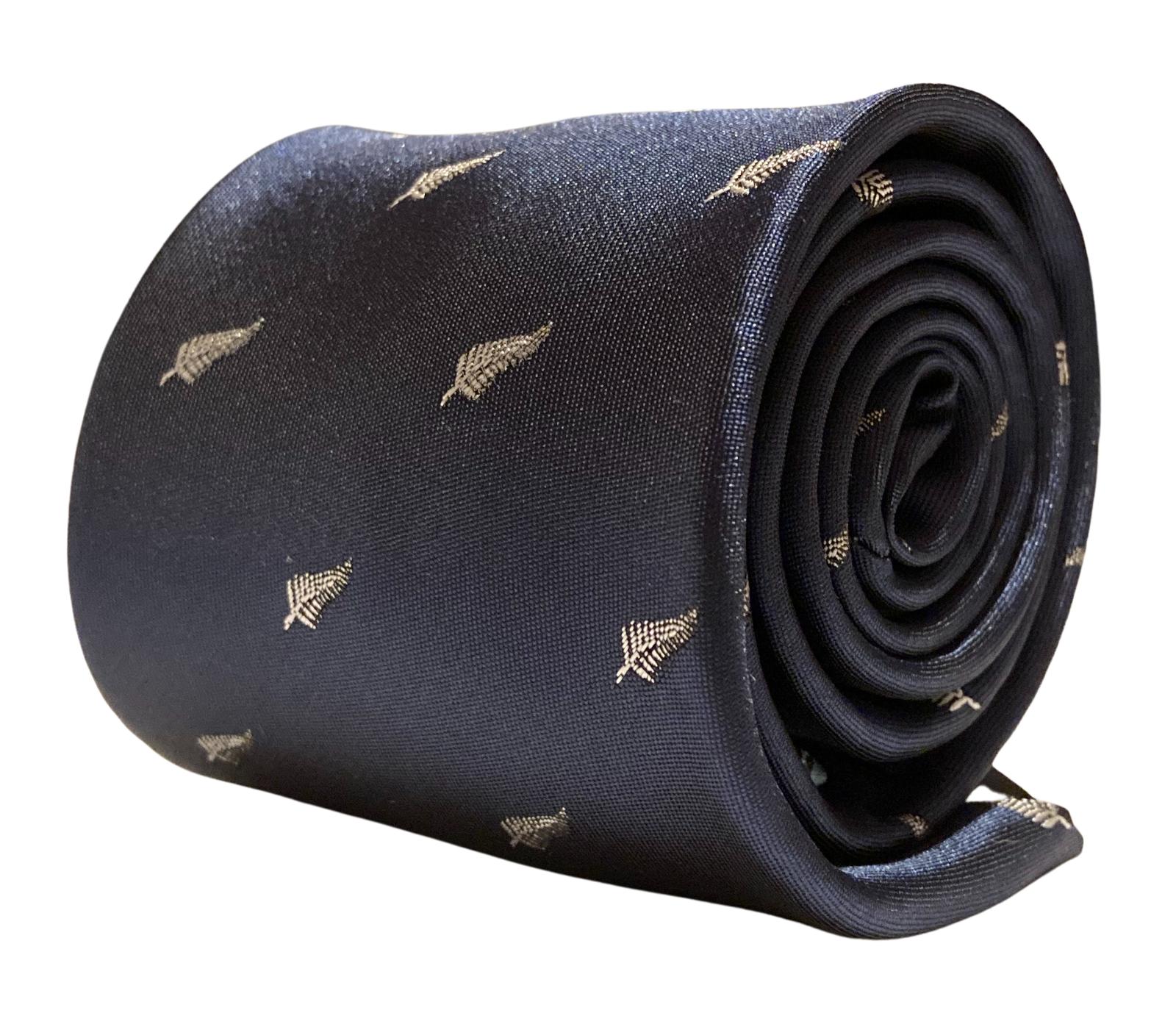 Frederick Thomas Designer Herren Krawatte - Dunkel Marineblau - New Zealand