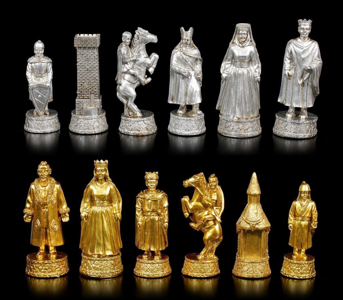 Figurines Figurines Figurines D'Échecs Set - Siegfried Princesse des Fées Nibelungen - Fantaisie 5af297