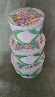 Happy Birthday Gift Money Hat Box Set Of 3 Boxes Hard To Find Unusual