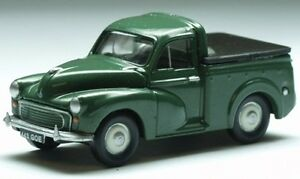 Classix-EM76633-Morris-Minor-Pick-Up-Verde-1-76-Nuovo-in-Scatola-t48