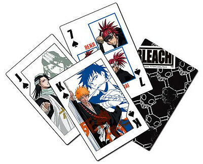 *NEW* Bleach Playing Cards
