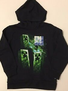 Minecraft Pullover Hoodie 4 5 6 7 8 10 12 14 16 18 Child Sweatshirt S M L XL New