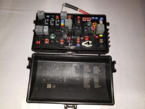 2013 MALIBU FUSE BOX 2.0L 22892002