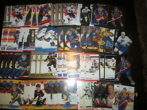Huge Lot of (50) Brett Hull Hockey Cards Blues